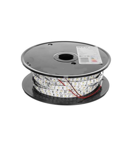 TAŚMA LED FLASH 2835 60 LED/METR ZIMNY BIAŁY 50M