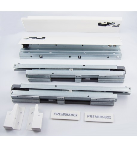 Szuflada ATM Premium-Box niska H100 biała